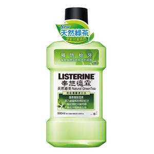 李施德霖 天然綠茶防蛀護齦漱口水500ml