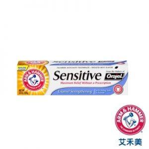 ARM&HAMMER 小蘇打抗敏牙膏-強化琺瑯質配方:(127g)