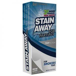 Stain-Away Plus假牙清潔錠