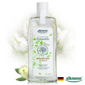 德國alkmene天然茶樹精油強效型漱口水