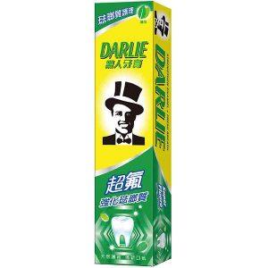 黑人-超氟強化琺瑯質牙膏