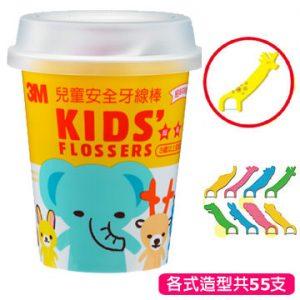 3M 兒童牙線棒