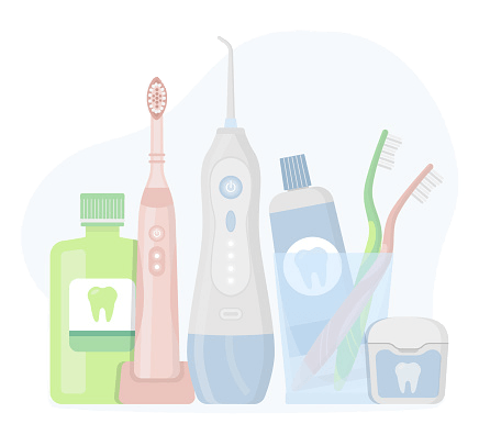 清潔牙齒用品列表